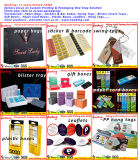 Großhandelskundenspezifisches Papierschmucksache-Geschenk-Kasten-Luxuxverpacken