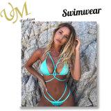 Spätester reizvoller Bikini-zweiteiliger Badeanzug-Badebekleidungs-Bikini