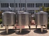 Roestvrij staal die de Tank van de Mixer voor Melk, Drank en Chemie mengen