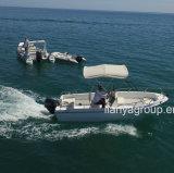 Liya 5m pequeno barco de pesca com casco de fibra de fornecedores