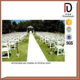Jardin extérieur en plastique blanc Accueil Chaise de mariage de pliage