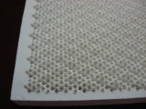 Plaque en céramique réfractaire de disque de nid d'abeilles infrarouge