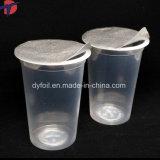 Coperchio impresso del di alluminio per il sigillamento della tazza della latteria