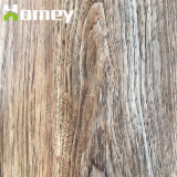 La décoration intérieure de matériau de revêtement de sol stratifié en vinyle PVC