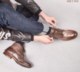 De nouveaux Hommes Bottes en cuir de haute qualité Bullock Buskin Boot