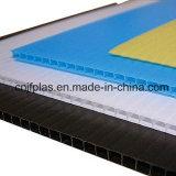 Feuille de plastique ondulé en PP blanc pour l'impression UV