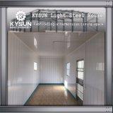 Casa modular de aço da luz rápida da construção de aço da instalação para a casa de campo