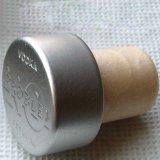 Sughero superiore d'argento opaco del polimero degli accessori dell'imballaggio del vino