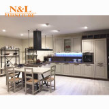 N & L Fabricante MFC Door Hotel Kitchen Cabinets