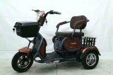 2 Lugares de alta qualidade barato triciclo eléctrico para idosos