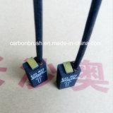 China Schunk E49R72 para motores de escova de carbono grafite