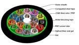 un cavo di fibra ottica incagliato Gyty del cavo di colpo