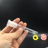 Tabaco 18m m de cristal al por mayor Downstem del tazón de fuente 14m m Downstem de Bontek