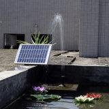12V 5W Solarbrunnen Gleichstrom-schwanzloses Minisolarwasser-Pumpen-Landschaftsdekoratives Pool-Solargarten-Wasser-Pumpen-Installationssatz
