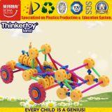 O carro pré-escolar o mais novo do brinquedo do enigma do tipo 3D