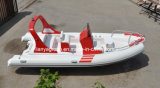 Liya 5.8m bote inflable rígido Rib inflables de pesca barcos