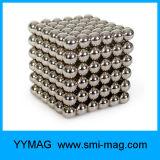 Boule magnétique en néodyme 216 Cube de 5 mm pour le jouet de l'aimant