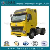 Preço do competidor do caminhão do trator de Sinotruk HOWO-A7 371HP 4X2