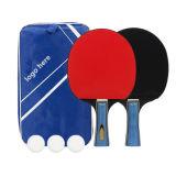 Professional Bat paddle tennis de table Set Logo personnalisé