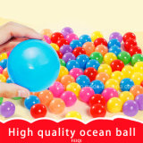 Preiswerter Qualitäts-Großhandelsplastik scherzt Walzen-Kugel-Spielzeug-elastische Kugel-Plastikozean-Kugel