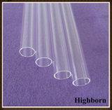 Tubo di lucidatura fuso radura di vetro di quarzo del silicone di purezza del più grande diametro