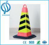 Безопасности Дорожного Движения 45 см/70см/90см высоты резиновой трафик яркий цветной светоотражающей внутреннее кольцо подшипника