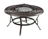 /Rattan ao ar livre/cadeira do alumínio de molde da mobília hotel do jardim/Patio/& tabela do assado ajustou-se (HS 3190C & HS 6125DT)