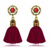 De rode Populaire Juwelen van de Vrouwen van de Oorringen van de Leeswijzer van Vrouwen