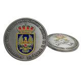 Moneta militare in lega di zinco antica del metallo dell'oro personalizzata professionista 3D per il ricordo con il prezzo di fabbrica (CO36-B)