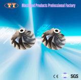 精密合金のアルミニウムタービンCNCの製粉の部品の製造サービス