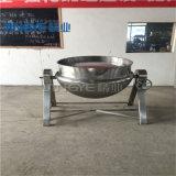 Inclinazione della caldaia rivestita del vapore dell'acciaio inossidabile