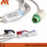 Mennen One-Piece Cable de ECG con derivaciones