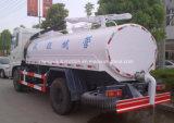 10000 L Dongfeng 4X2 10 toneladas del vacío de la succión de carro de petrolero fecal