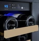 호텔과 홈 사용 이중 문 포도주 냉장고에서 건축되는 124L