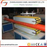 Производственная линия трубы дренажа двойной стены HDPE Corrugated