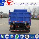 가벼운 쓰레기꾼 팁 주는 사람 덤프 트럭 또는 쓰레기꾼 또는 빛 화물 트럭