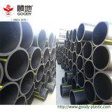 Erdgasleitung PE100 HDPE Gefäße schwarzes HDPE Gas-Rohr