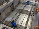 Einfacher Geschäft Customerized automatischer heißer Ausschnitt-Plastiktasche, die Maschine herstellt