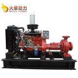 Heiße wasser-Pumpen-eingestellte/einzelne Absaugung Centriffugal Pumpe des Verkaufs-60kw große Dieseldes fluss-670m3/H