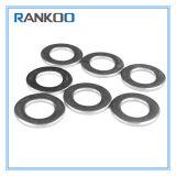 Rondelles de freinage plates personnalisées pour des dispositifs de fixation