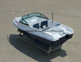 Шлюпка скорости стеклоткани Aqualand 15feet 4.6m/рыбацкая лодка спортов (150br)