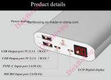 Samsungの充電器のための速い3.0の移動式電池の電話Powerbank