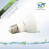 GU10 MR16 E27 B22 220lm 360lm 560lm 770lm 1050lm 7 * 10W LED Flat PAR Light com RoHS CE SAA UL