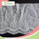 Cordón barato vendedor caliente del bordado del algodón de la fábrica de China