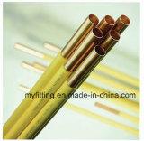 Bobine de crêpes 15m de tuyaux en acier Tubes en cuivre recouvert de plastique du tube de 0,7 mm 5/16''*pour tuyau de frein Auto/systèmes de plomberie de l'eau avec prix d'usine