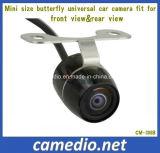 Linhas câmera impermeável universal da tevê da borboleta 480 de 170 graus do Rearview do carro do CMOS