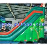 Backyard Kids gonflable résidentiel glissoire d'eau/immense glissade d'eau rebondissant pour Custom