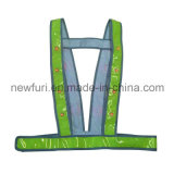 Weerspiegelende Band van het Vest van het HOOFD de Opvlammende OEM Hoge Zicht
