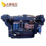 Motor marina diesel de alta velocidad Wd10 de 2100rpm Weichai Steyr 200HP