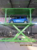 Hydraulic Automated Parking Car Top spin clouded